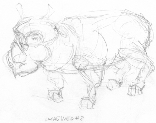 Rhino from imagination # 2