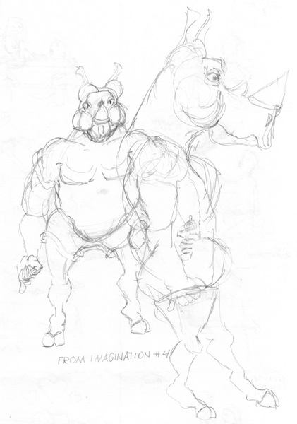 Rhino from imagination # 4