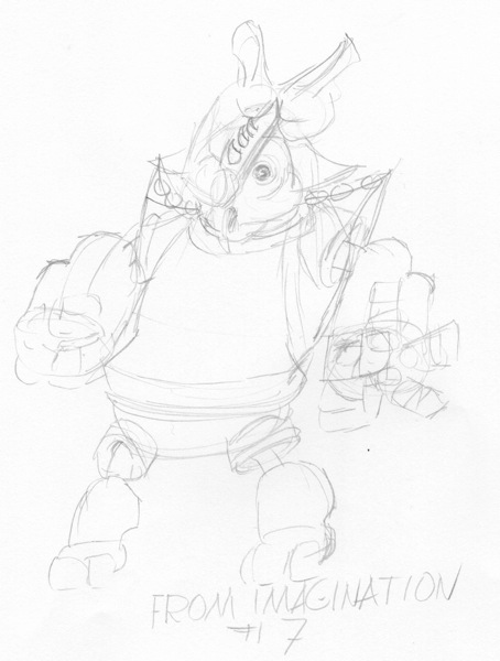 Rhino from imagination # 7